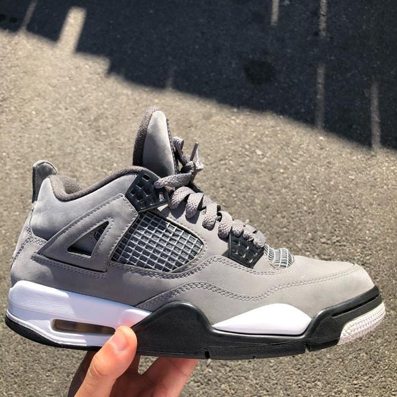 Jordan Shoes   4 Cool Grey Size 8